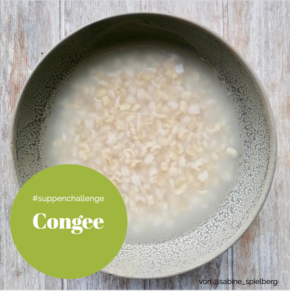 Congee TCM Heilnahrung